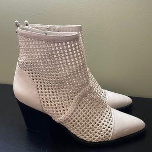 White Booties by Sam Edelman